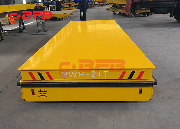 Large Table Electric Trackless Transfer Cart For Material Moving Customized Color